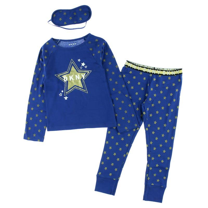 DKNY Star Pajamas 7-16