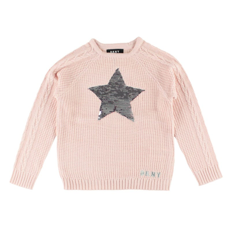Sequins Stars Sweater 4-6y
