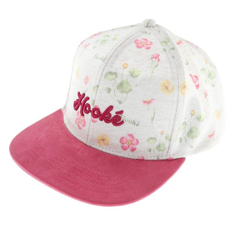 Hooké Flower Print Cap 2-16y