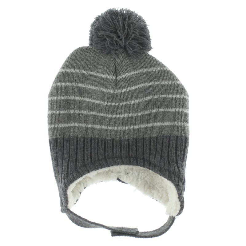 Tuque Tricot Rayée 6-9mois