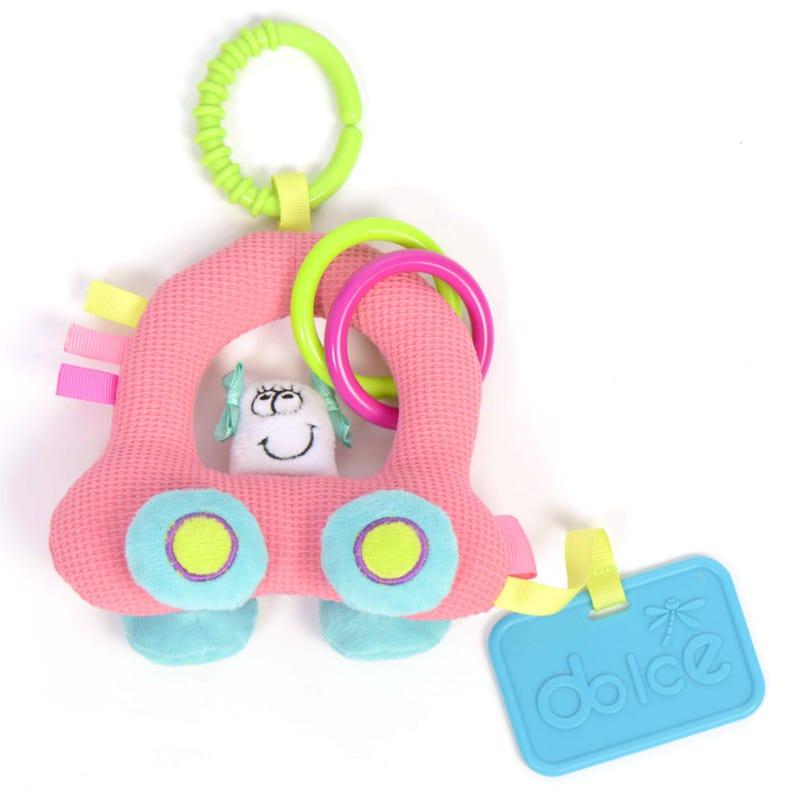 Mini Bubble Car Toy Activity - Pink