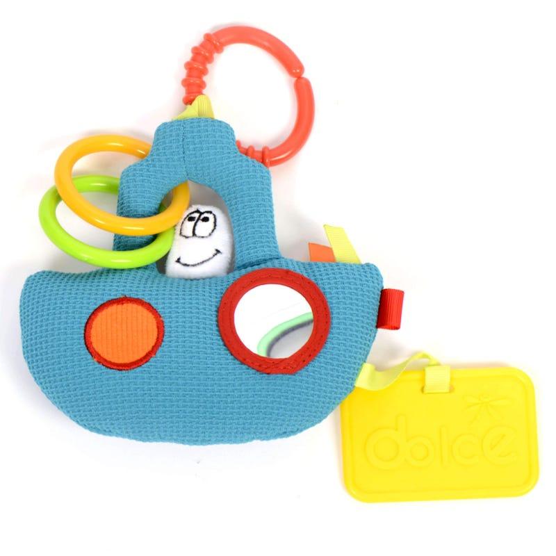 Mini Tug Boat Toy Activity - Blue