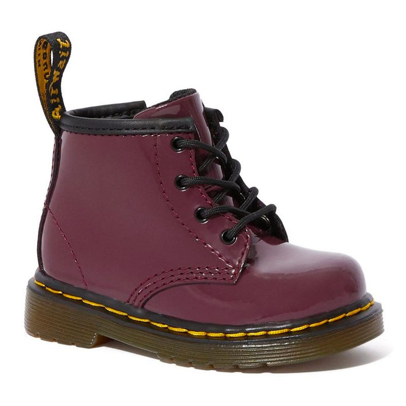 Boot 1460 Patent Plum Sizes 4-6