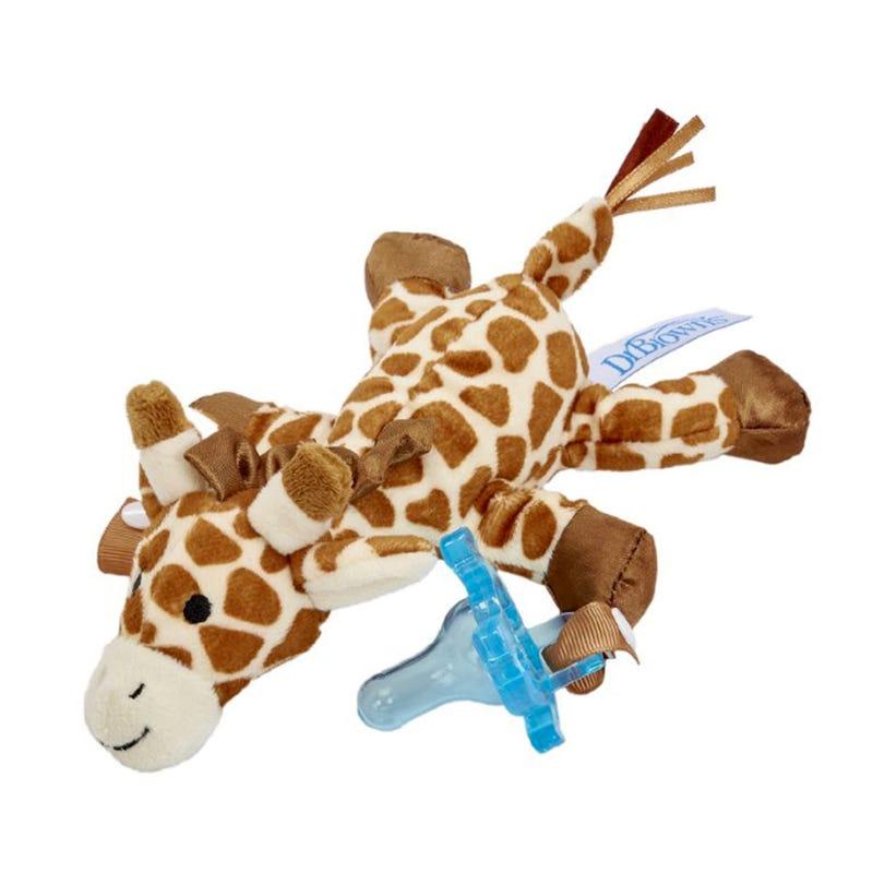 Pacifier Teether Holder - Giraffe