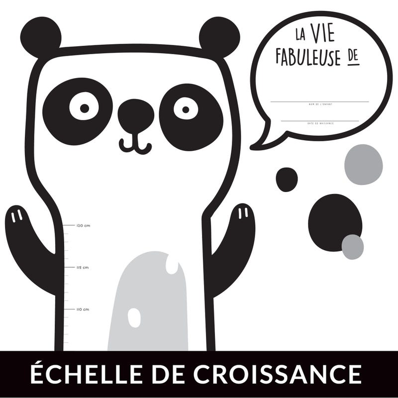 Échelle de Croissance - Panda Français