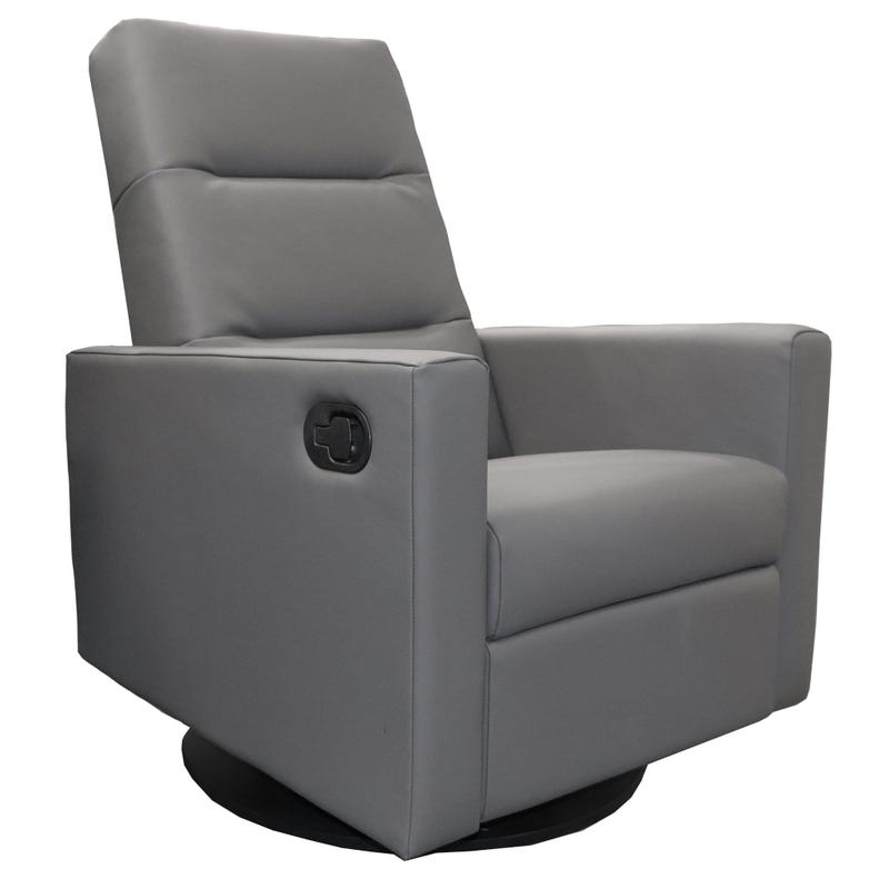 Kallia Swivel Glider- Dark Grey