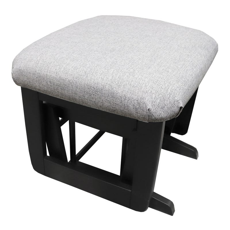 Stool - Black and Fabric #5310