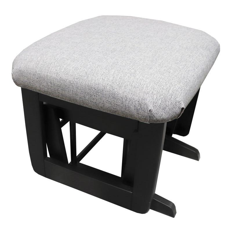 Tabouret - Noir et Tissu #5310