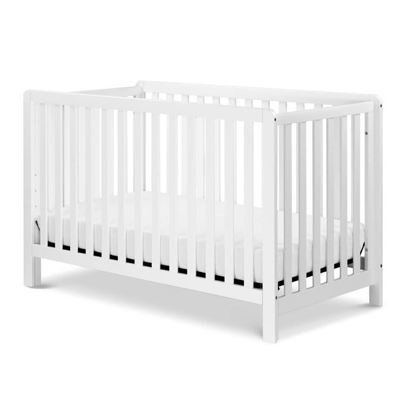 Colby 4-in-1 Convertible Crib - White Finish