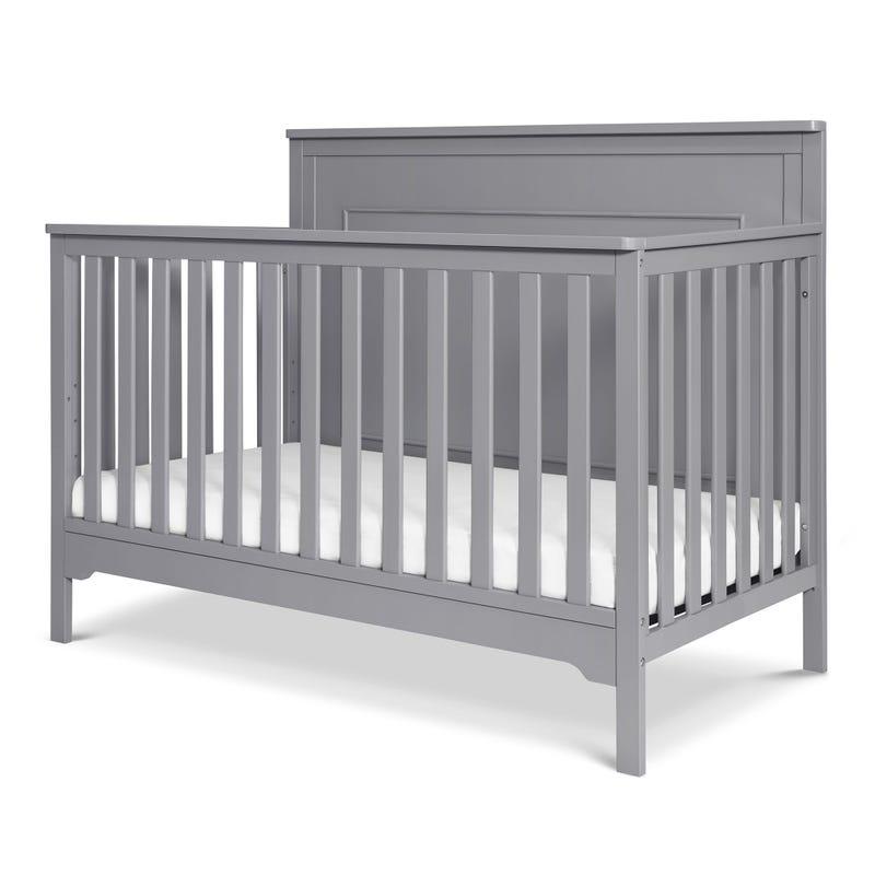 Dakota 4-in-1 Convertible Crib - Grey