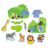 Jungle Animals Toys Bath