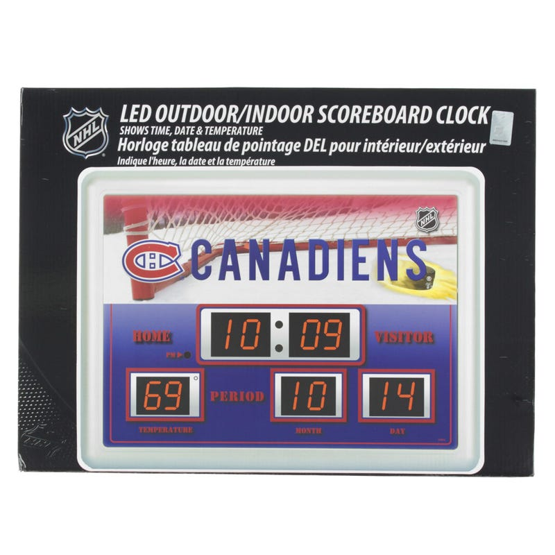"Clock Canadien 19.7""X15.75"""