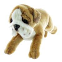 Peluche Chien Bulldog