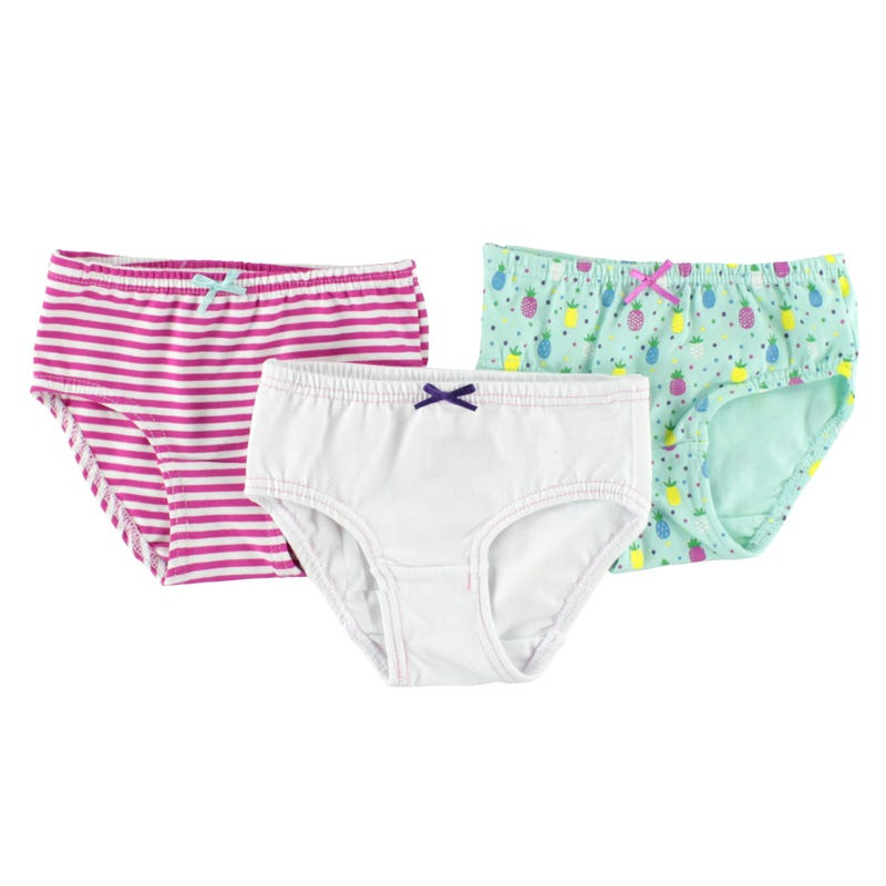 Pineapple Panties 2-12y - Set of 3