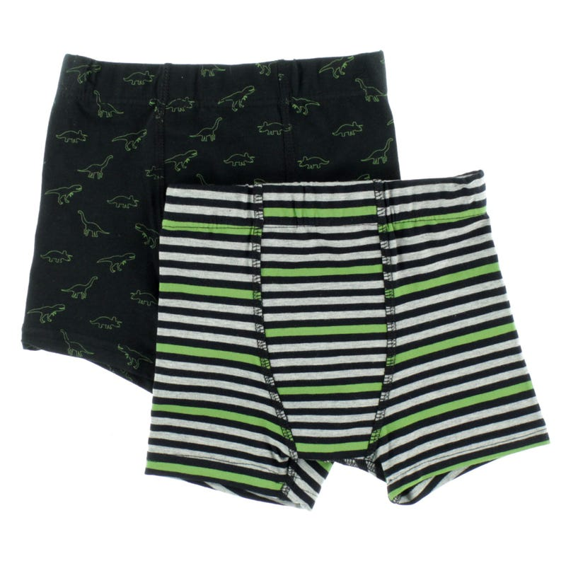 Dinos Striped Boxers 2-12y - Set of 2