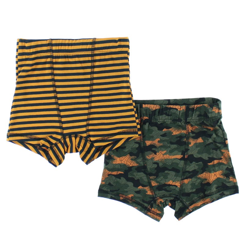 Camo 2-Pack Boxers 2-12y
