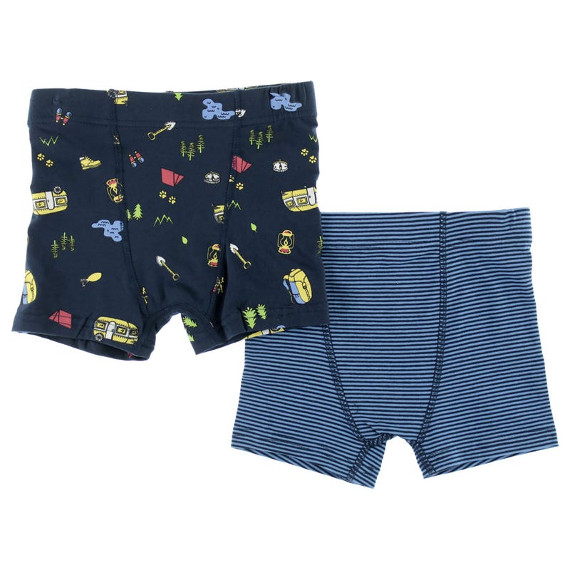 Camping Boxers 2-12y - Set of 2