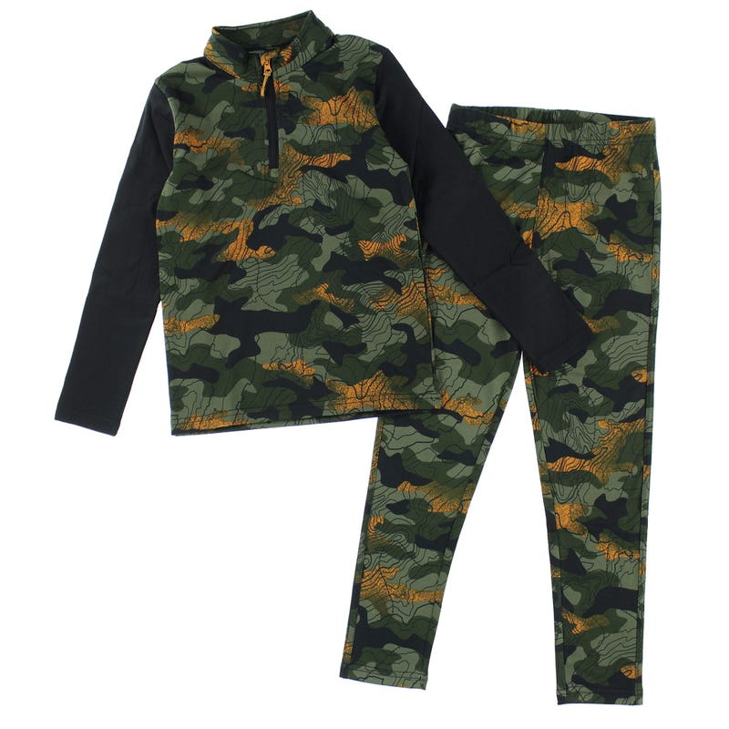 Ensemble Thermal 2-14ans - Camo