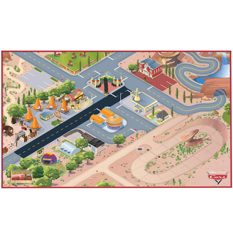 Cars Nonslip Playmat