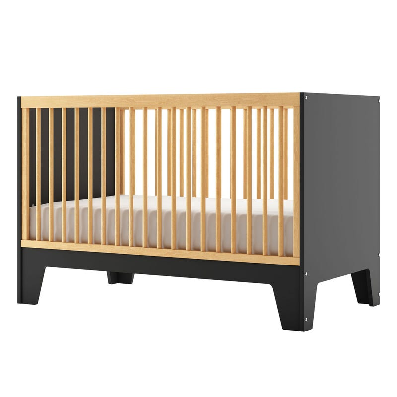 Crib Caramel - Black/Natural