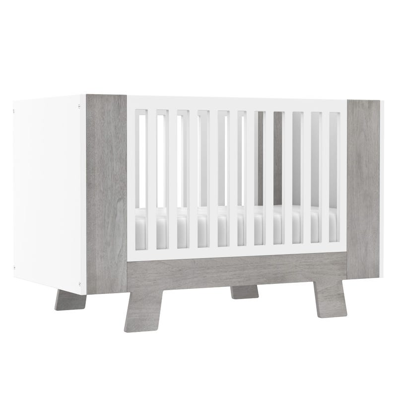 Crib Pomelo - White/Gray