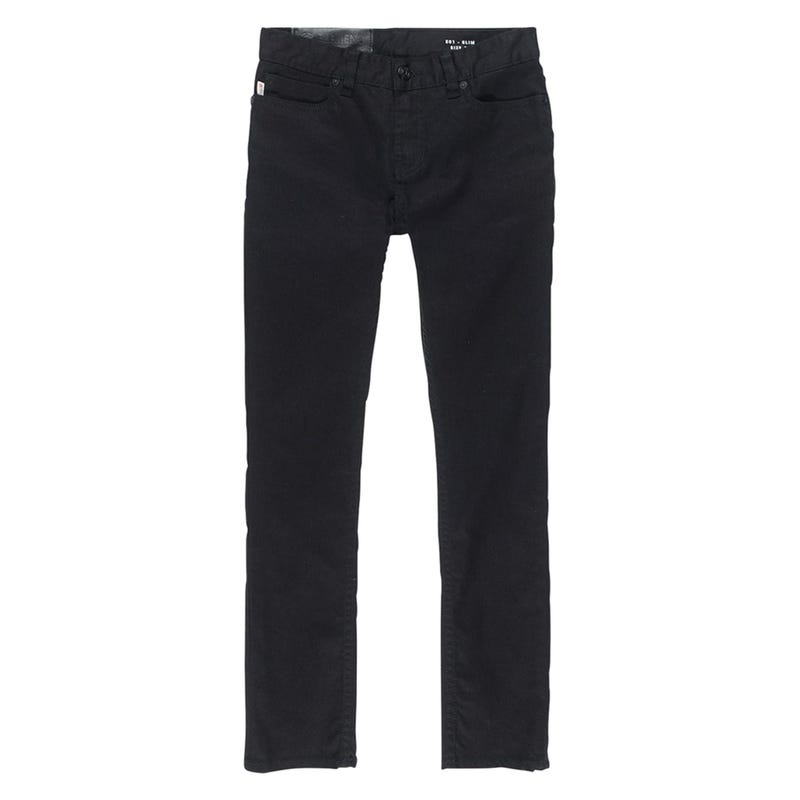 E01 Color Denim 8-16y - Flint Black