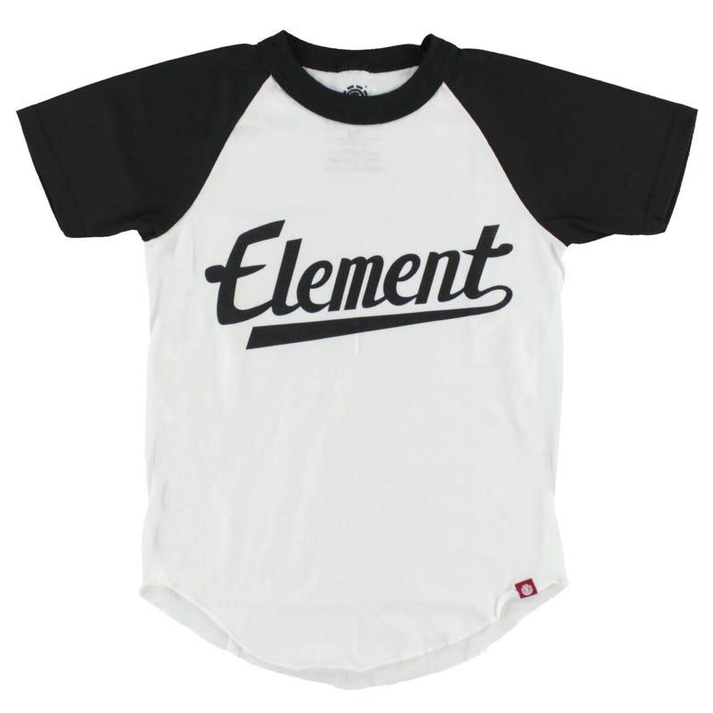 T-Shirt Raglan Script 8-16ans