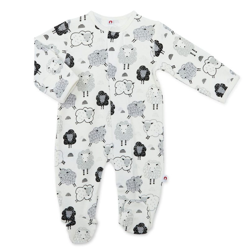 Pyjama Magnétique Agneaux 0-9m