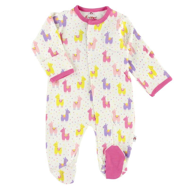 Pyjama Magnétique Lama 0-9mois