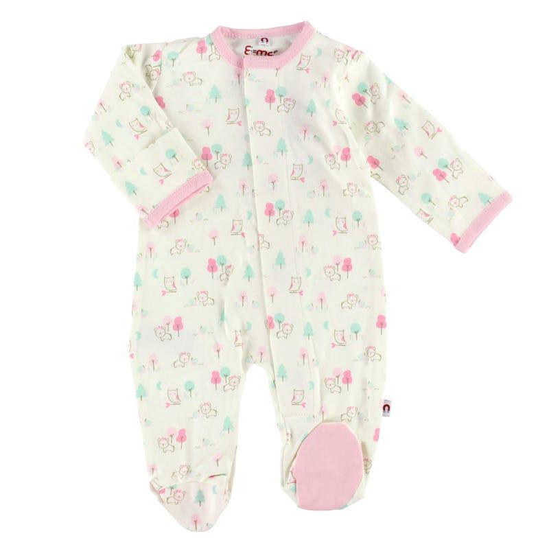 Pyjama Magnétique Chouette 0-9mois