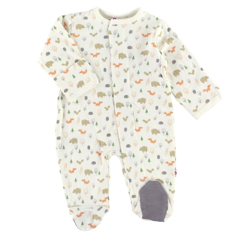 Pyjama Magnétique Boisé 0-9mois
