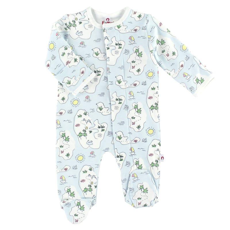 Pyjama Magnétique Monde 0-9mois