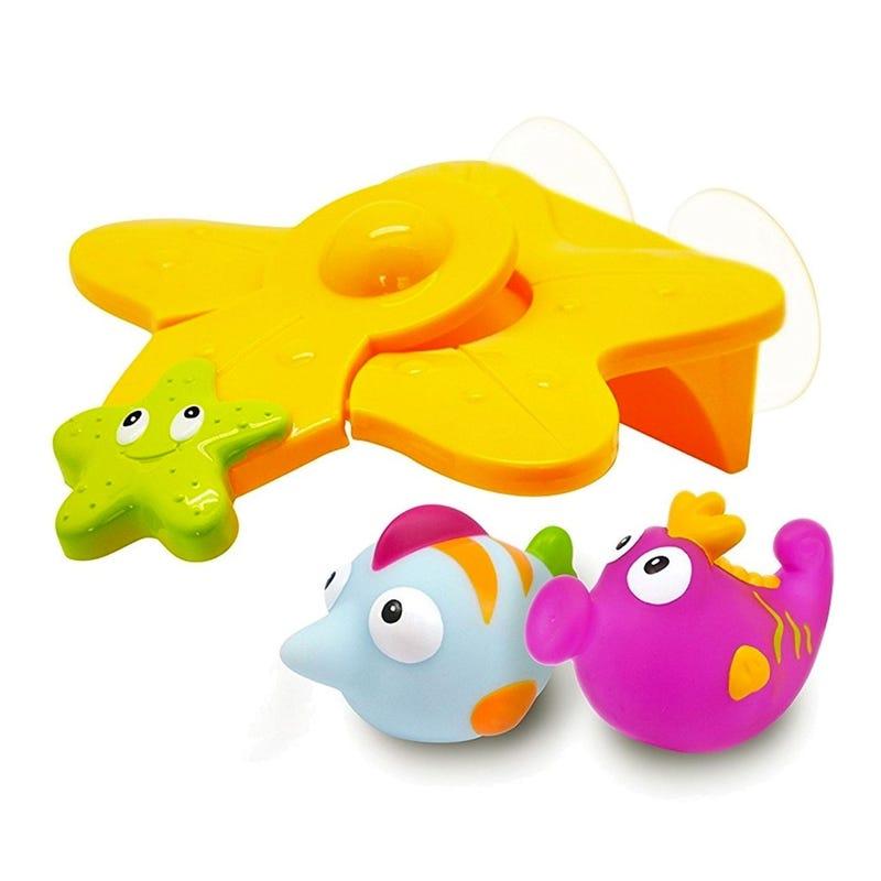 jouet de Bain Poissons Avec Plongeoir