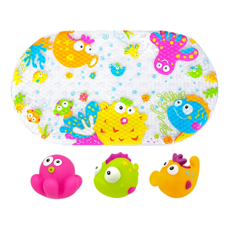 Tapis et Jouets Paquet de 3 Bain Jungle