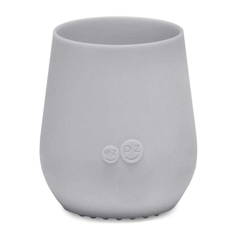 Infant Training Cup Silicone - Grey