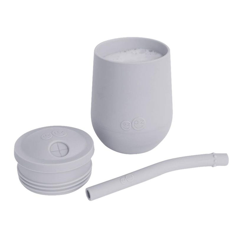 Mini Cup + Straw Training System - Pewter Grey