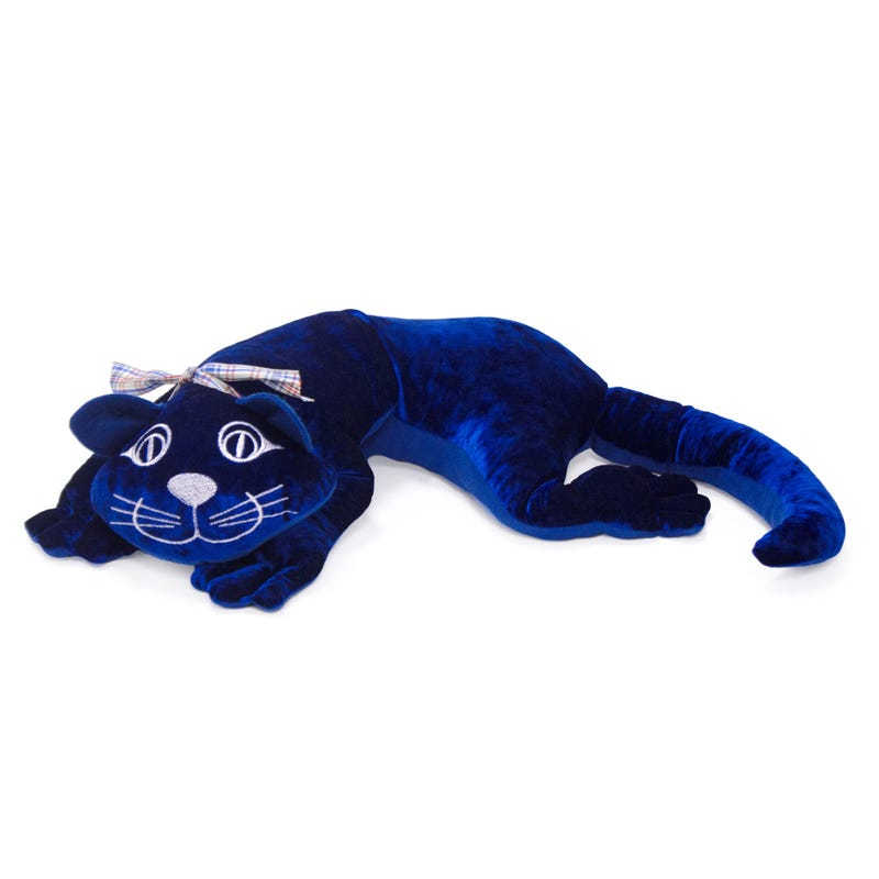 Manimo Chat Lourd 1Kg - Bleu