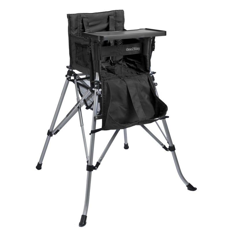 Portable High Chair - Black