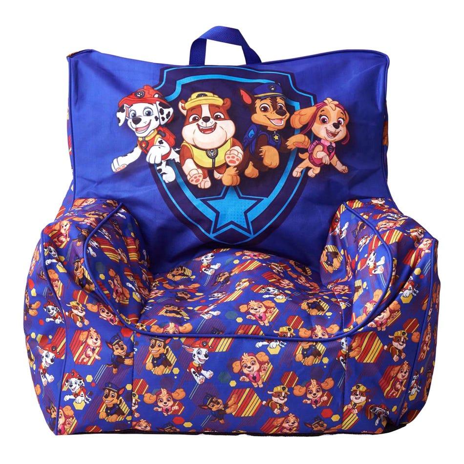 Admirable Clement Home Paw Patrol Bean Bag Blue Clement Uwap Interior Chair Design Uwaporg