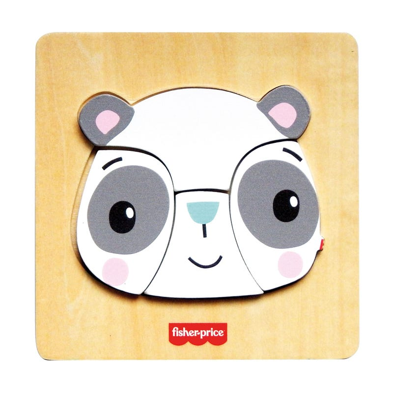 Casse Tête En Bois Panda