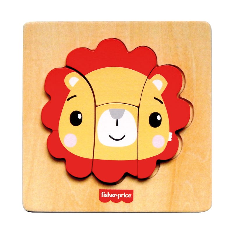 Casse Tête En Bois Lion