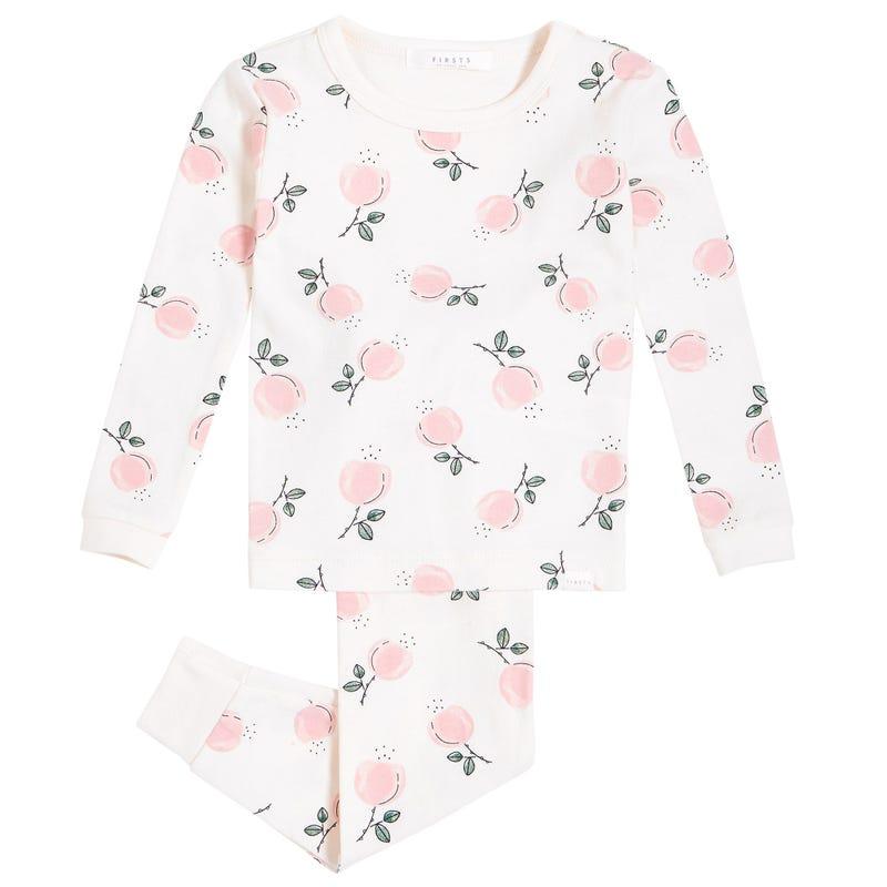 Pyjama Roses 2-4ans