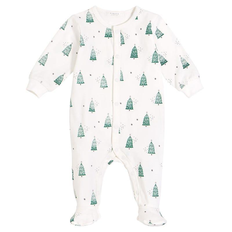 Tree Pajamas 0-12m