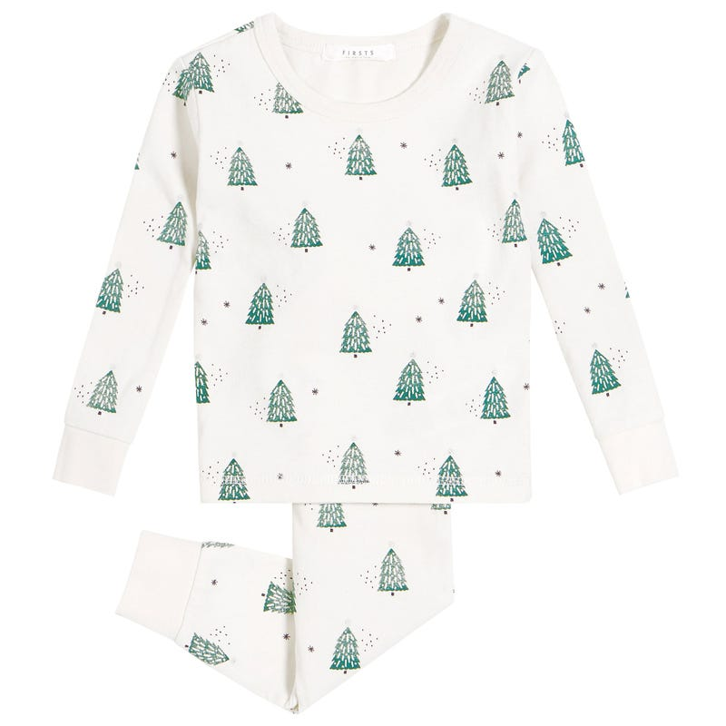 Tree Pajamas 12-24m