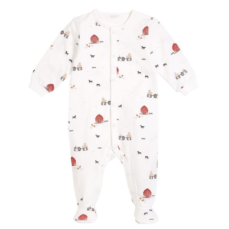 Barn Pajamas 0-12m