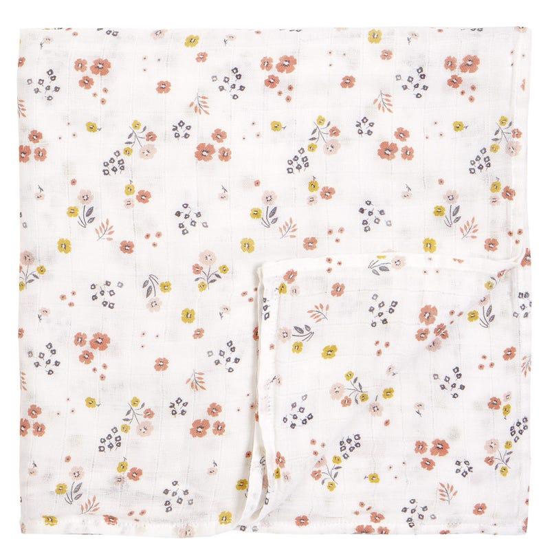 Couverture Mousseline Fleurs