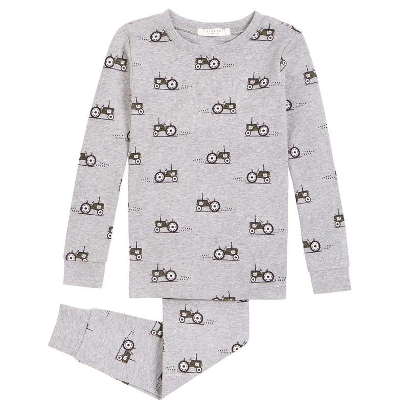Pyjama 2 Pièces Tracteurs 2-4ans