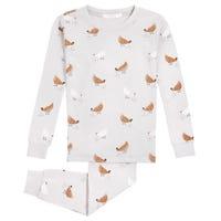 Chicken Coop 2 Pieces Pajamas 12-24m