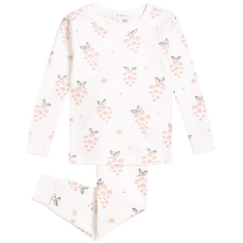 Pyjama 2 Pièces Rosé 2-4ans