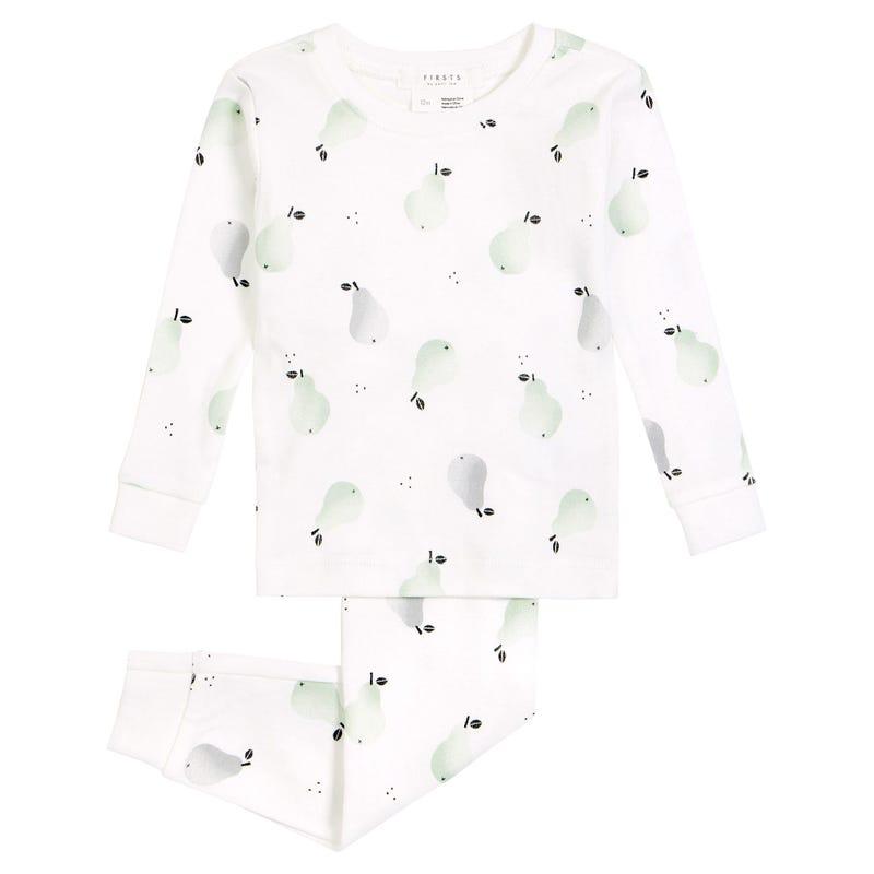 Pyjama 2 Pièces Poires 2-4ans